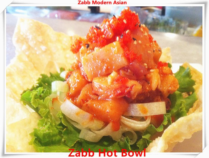 Zabb Spicy Bowl @ Zabb Modern Asian