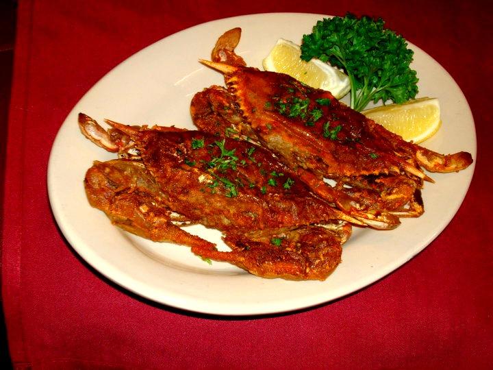Amalfi Ristorante Soft Shell Crab