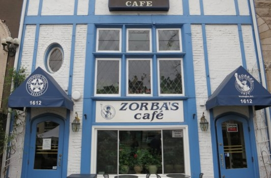 Zorba's Cafe - Dupont Circle DC