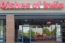 Dishes Of India - Alexandria VA