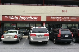 The Main Ingredient Cafe @ Annapolis