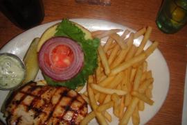The Diner Grilled Chicken Sandwich