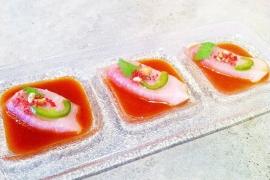 Zabb Yellowtail Sashimi @ Zabb Modern Asian
