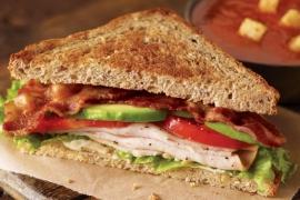 Uptown Turkey Sandwich