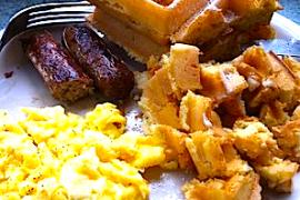 Southern Breakfast @ Highlands Cafe