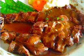 Bordelaise Lamb Steak