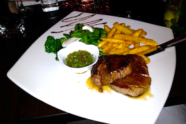Argentinian Steak @ The Parva