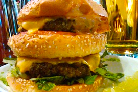 Ovi Burger @ Lou's City Bar