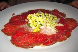 Thai Beef Carpaccio @ Room 11