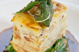 Duck Confit Potato Lasagna