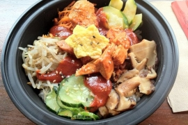 Spicy Chicken Bibimbap @ Rice Bar