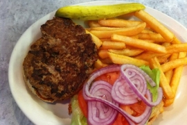 American Turkey Burger @ American City Diner