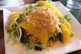 Mango Salad @ Cafe Sakura