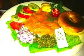Smoked Salmon @ Chez Andree