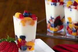 Mini Fruit & Yogurt Parfaits