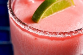 Frozen Pomegranate Margarita