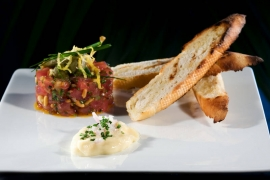 Hawaiian Tuna Tartar