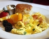 Salmon Scrambled Eggs @Cafe Deluxe