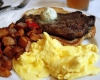 Steak & Eggs @Cafe Deluxe