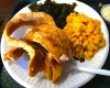 Fried Whiting @ Flavors Soul Food